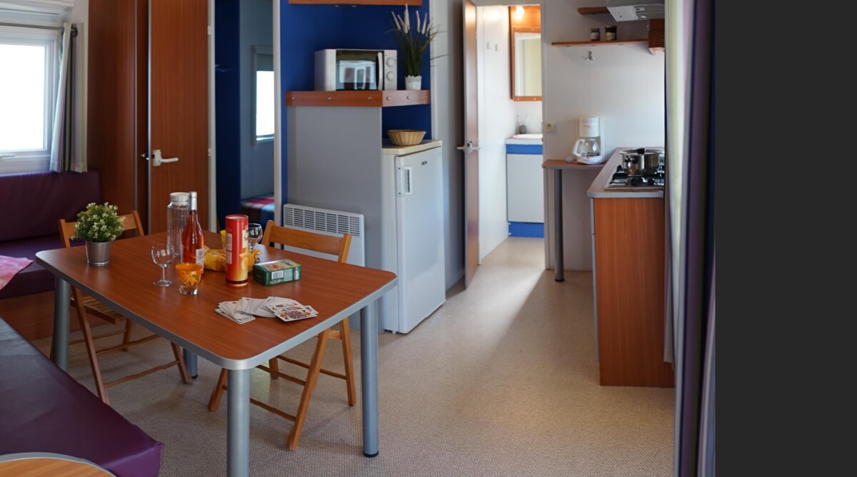 Mobil-home Confort 2 chambres